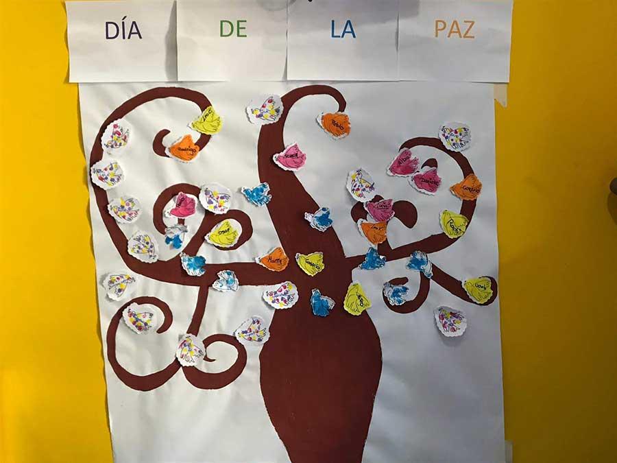 Escuela infantil en Las Rozas – El día de la Paz