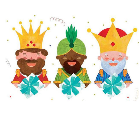 Los Reyes Magos de nuestros Pequeños Astronautas