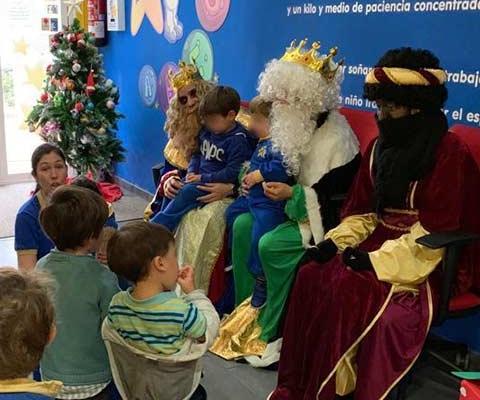 Los Reyes Magos visitan a los Pequeños Astronautas