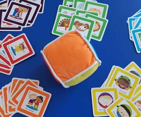 Juego Roll and Play en la Escuela Infantil
