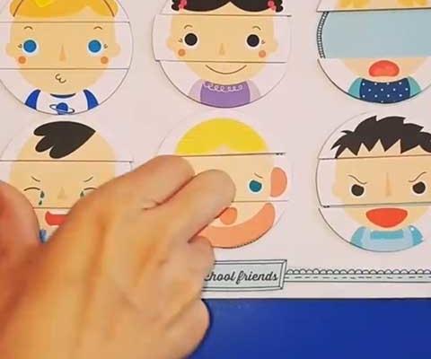 Trabajar las emociones en la escuela infantil