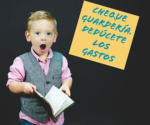 Nuevo Cheque guardería educación infantil