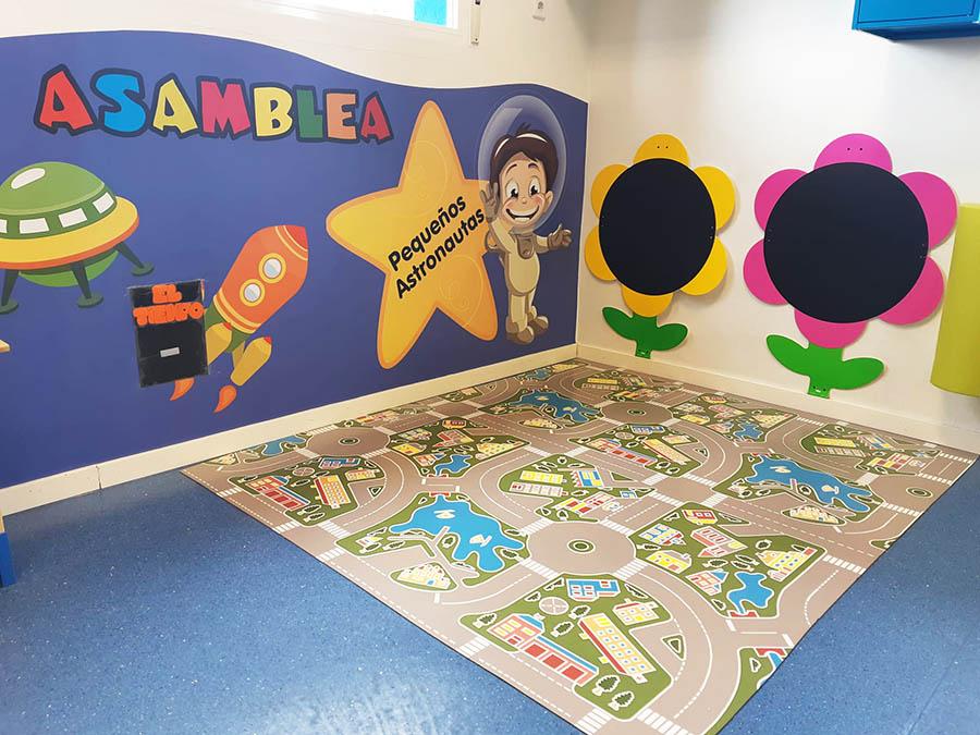 visita virtual - Escuela infantil en Las Rozas Pequeños Astronautas