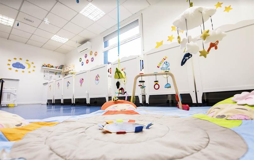 Escuela infantil en Las Rozas Pequeños Astronautas - Aula Luna - - espacios para juegos