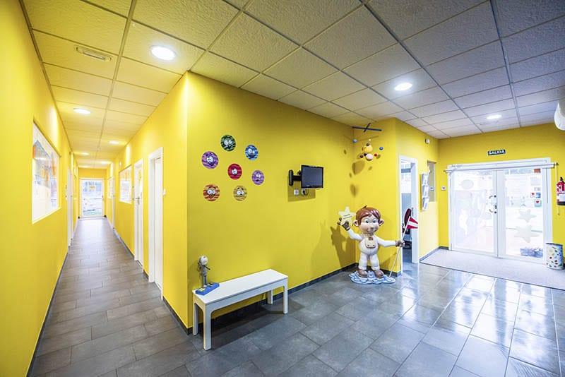 Recibidor - Escuela Infantil Pequeños Astronautas
